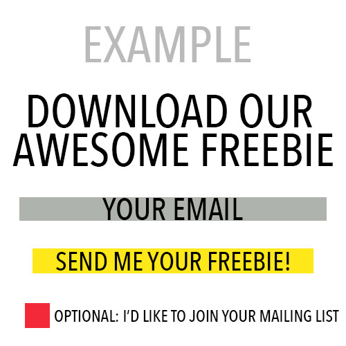 Freebie that is GDPR compliant. See how to grow your mailing list with freebies while being GDPR compliant