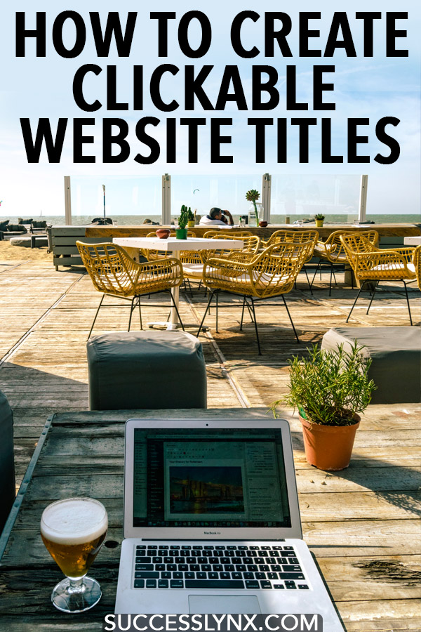 Looking to create clickable website titles? Read what you MUST do to create effective page titles for social media sharing and SEO. #seo #blogging #socialmedia #entrepreneur