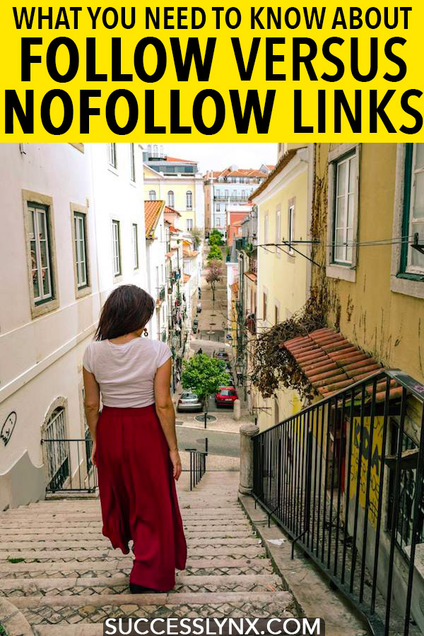 Trying to learn SEO? Your simply guide to follow versus nofollow links, including when to nofollow a link. #SEO #Blogging