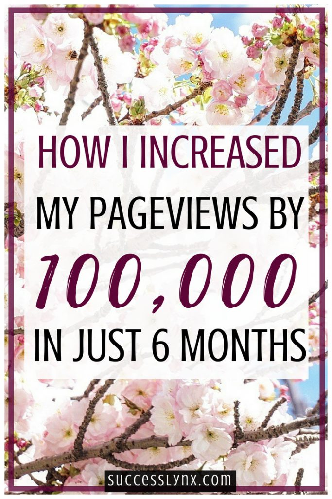 How I increased my pageviews by over 100,000 in just 6 months using the power of SEO (search engine optimization.) Read my insider SEO tips and complete SEO strategy! #SEO #Blogging #Business