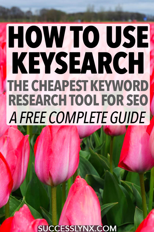 Looking to learn SEO? Learn how to use Keysearch, one of the cheapest keyword research tools for SEO. Read our complete guide to researching SEO keywords. #SEO #blogging #business #Searchengineoptimization