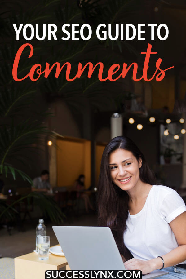 Wondering if you should have comments enabled on your blog or website? Your SEO guide to comments, including best SEO practices in regards to commenting. #SEO #blogging #businesses #webdesign